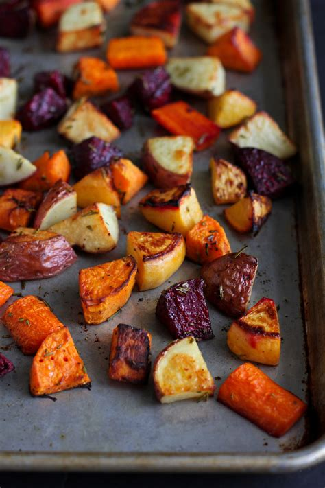 vegetables you can roast roasted rosemary root vegetables the pioneer