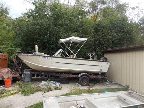 used deep v aluminum boats for sale 18 starcraft aluminum deep v boat for sale in lincolnwood