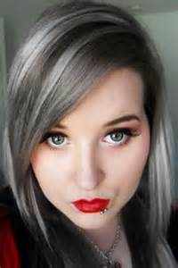 hairstyles with grey streaks 1000 images about hair style ideas 40 plus on pinterest