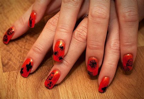 easy nail art halloween easy halloween nail art designs to master family holiday