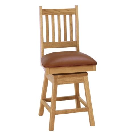 mission bar stools swivel spindle back mission swivel bar stool