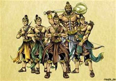 figure pandawa 5 1000 images about wayang character on lima