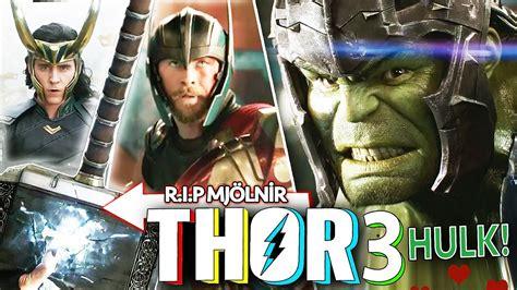thor ragnarok film fragman thor 3 ragnarok ilk fragman hulk vs thor youtube
