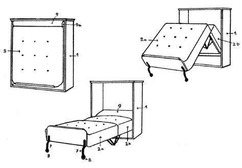 zusammenklappbares bett schrankbett selbst bauen wandbett zusammenklappbares bett