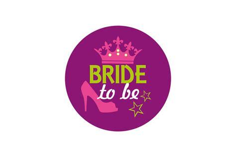 Bachelor Home Decor bride to be badge high heels