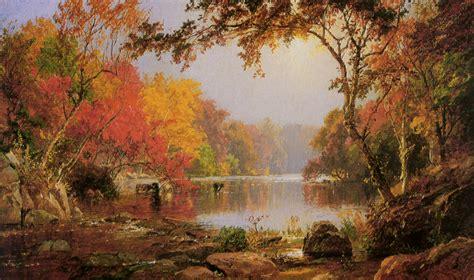 Landscape Photography Rivers River Landscape In Autumn Jasper Francis Cropsey