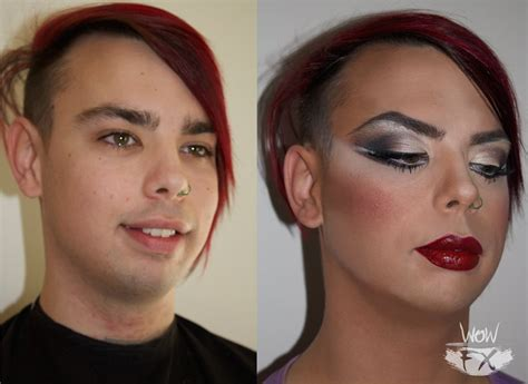 cross dressing before and after wowfx makeup before and after cross dressing makeup