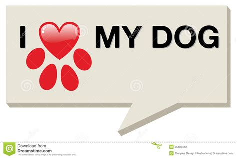 i my puppy i my with paw stock photography image 25130442