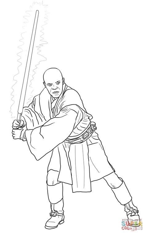 Mace Windu Coloring Pages 301 moved permanently