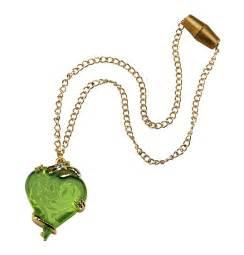 disney descendants mal heart necklace costume castle