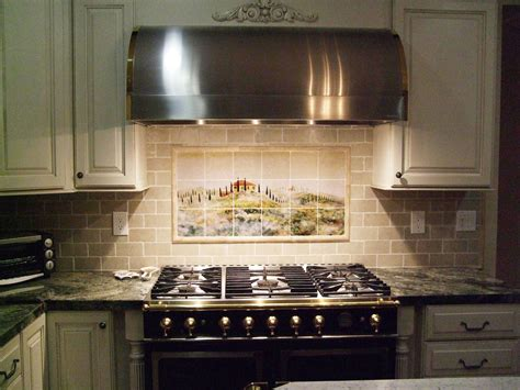 Kitchen Tile Backsplash Subway Tile Kitchen Backsplash Home Design Ideas