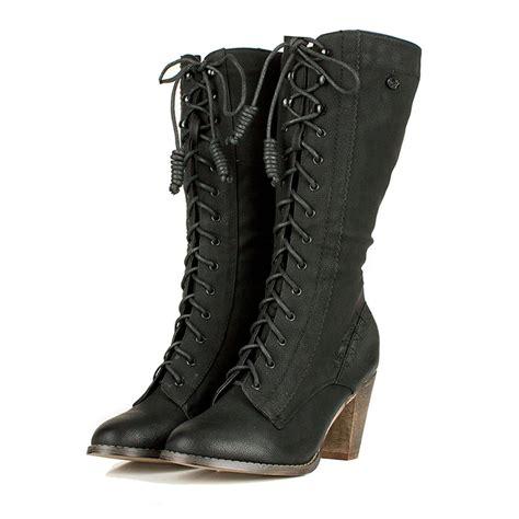 Sale Semi Boots Black N30 black semi toe lace up boots steunk