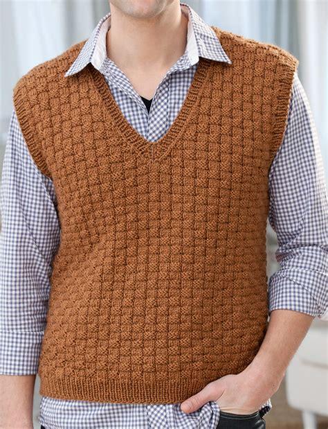 knitting pattern men s sweater vest men s sweater knitting patterns in the loop knitting