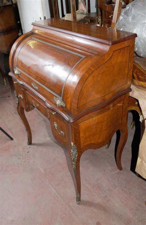 top bureau louis xv roll top desk bureau table