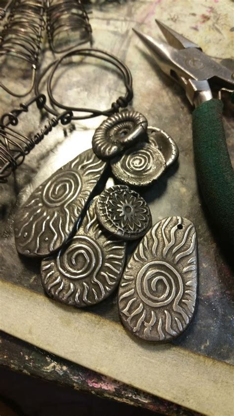 Jewellry By Louise 1740 best jewelry metal clay images on metal