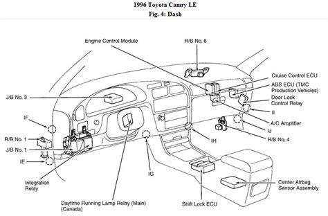 toyota power windows wiring diagram