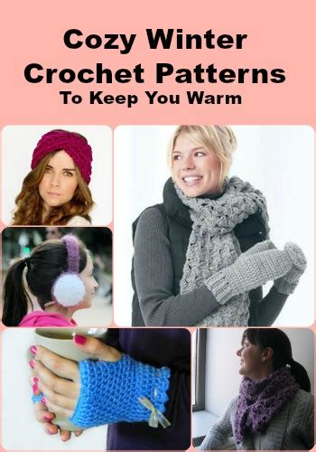 winter crochet cozy warm crochet clothes and crochet ornaments books cozy winter crochet patterns to keep you warm