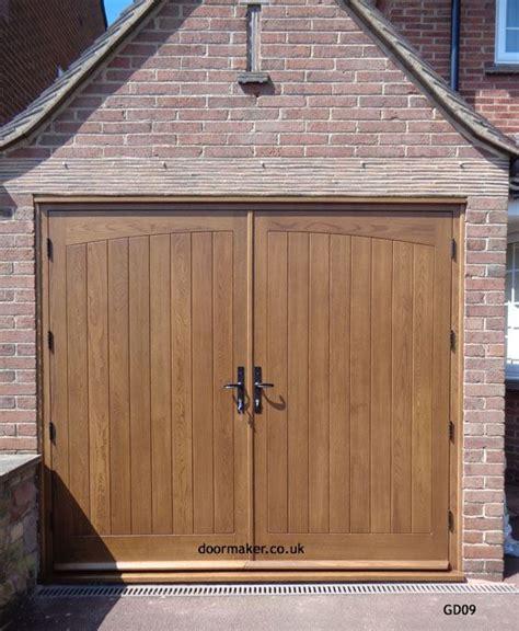 oak garage doors images  pinterest