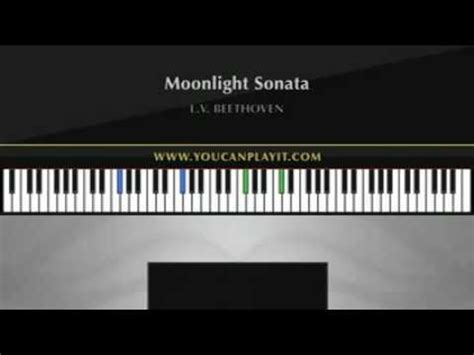 tutorial piano moonlight sonata beethoven moonlight sonata advanced piano tutorial youtube