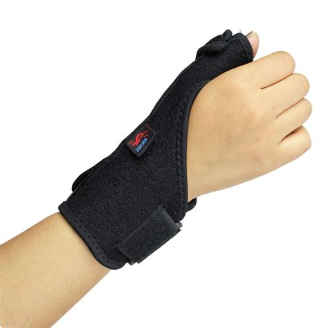aliexpress buy 1pc package elastic thumb wrap palm wrist brace splint support