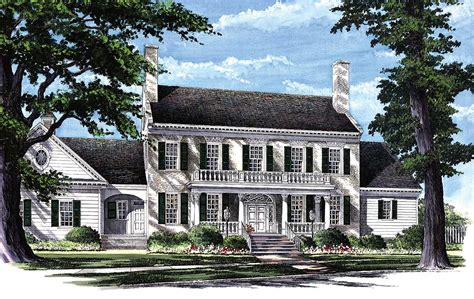 homes with two master suites colonial home plan with 2 master suites 32463wp