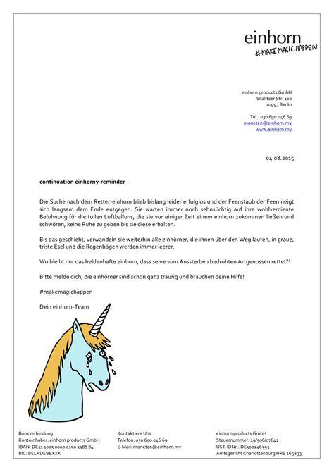 Reminder Schreiben Muster Englisch Einhorny Vorlagen F 252 R Mahnung Und Zahlungserinnerung
