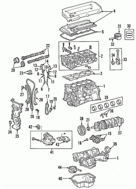 toyota camry engine diagram automotive parts