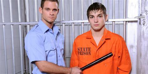 Prison Shower Johnny Rapid guard out w prisoner in new york