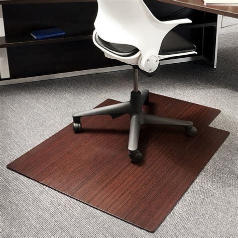 office chair mat for wood floors rectangle fiber large office chair mat for wood