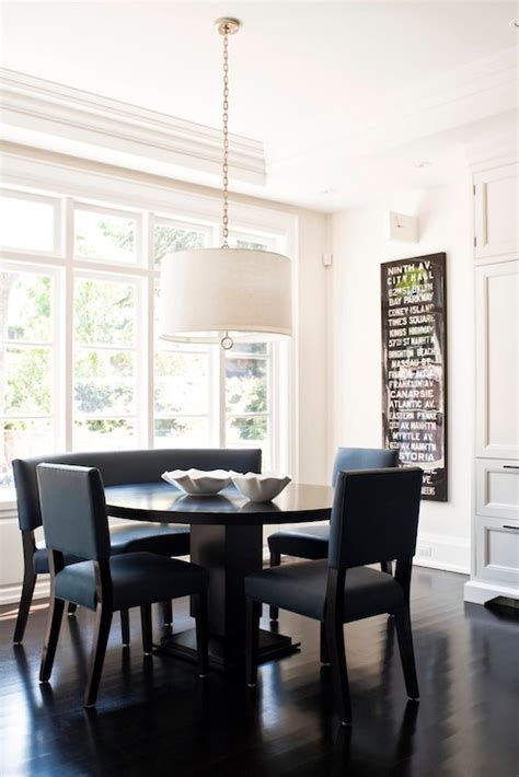 eat in kitchen furniture blue dining chairs transitional dining room