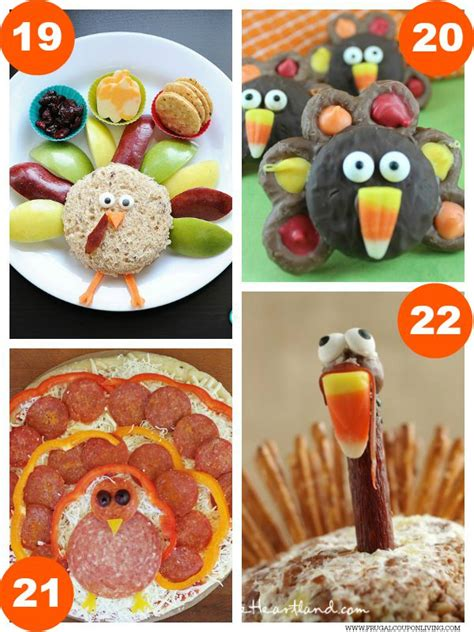 food crafts for 31 thanksgiving food craft ideas