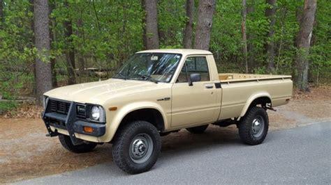 Toyota Truck 4x4 1980 Toyota Hilux Up Truck Original Paint Survivor