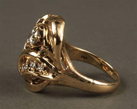 Fashion Ring 822 lot 160 14k fashion ring