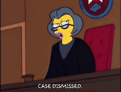 Suit Dismissed By La Judge by Season 5 Gif Find On Giphy