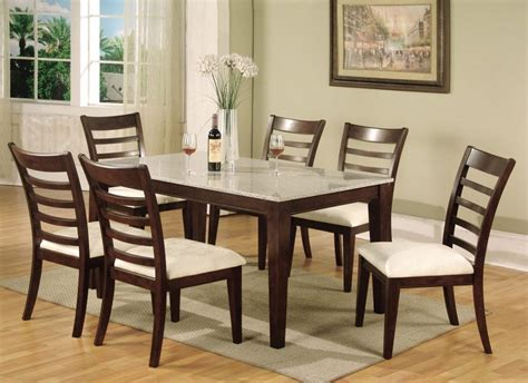 granite top dining table furniture dining room modern dining set with square