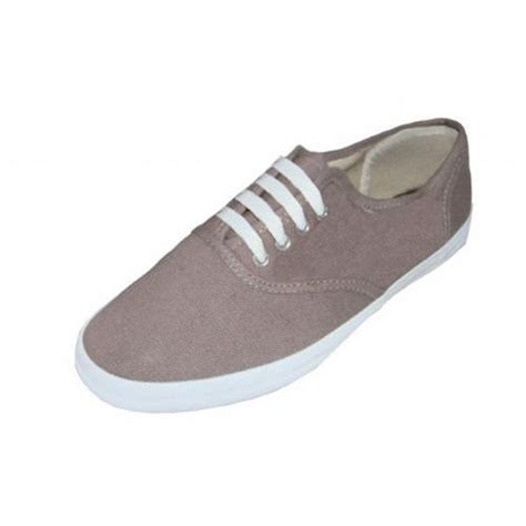 wholesale footwear canvas shoes taupe at