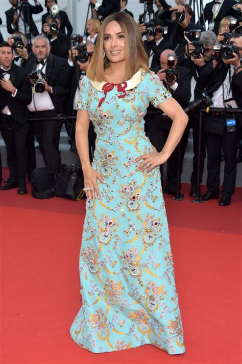Versace Alma Glossy on the the 70th annual cannes festival