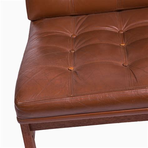 Vintage Leather Lounge Chair by Vintage Leather Lounge Chair From Cado For Sale At Pamono
