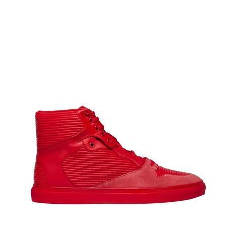 balenciaga sneakers balenciaga cotes monochrome high sneakers s sneaker