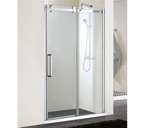 Aqualux Shower Doors Aqualux Aqua 8 Vibe Sliding Shower Door 1200mm 1159253