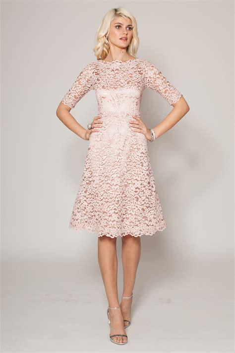 light pink lace dress light pink lace bridesmaid dresses wedding bells dresses