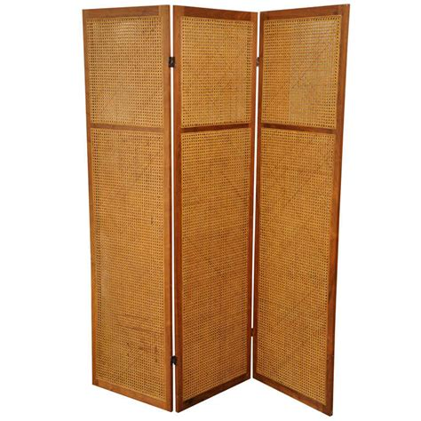 wicker room divider vintage caned rattan room divider screen