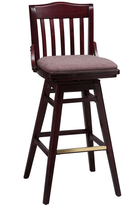 commercial wood bar stools regal seating series 454 commercial wooden swivel counter