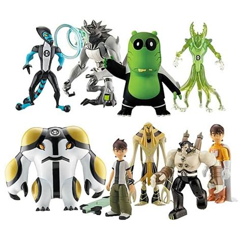 Figure Ben 10 18 ben 10 collection figure wave 5 bandai