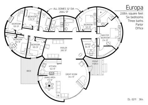 monolithic dome home plans floor plan dl 3211 monolithic dome institute