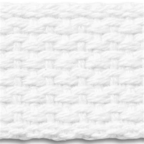 7l white lightweight cotton webbing national webbing