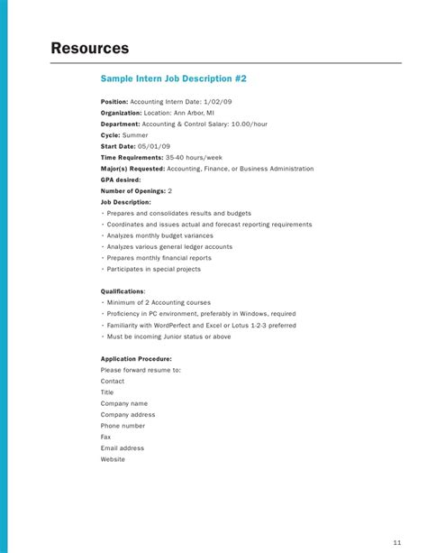 Resume Sample With Gpa by Employer Internship Toolkit