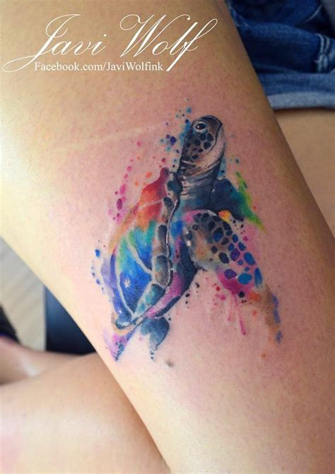 watercolor tattoos turtle 17 best ideas about watercolor tattoos on