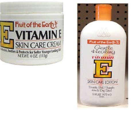 tattoo healing vitamin e fruit of the earth vitamin e skin care cream 4 oz or