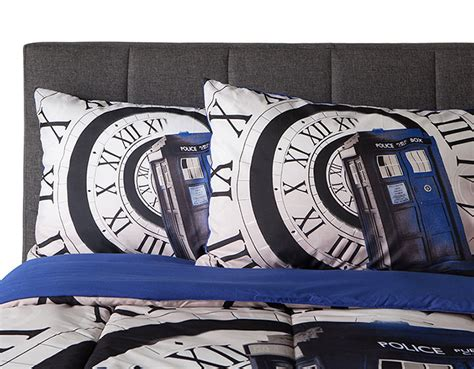 Doctor Who Pillow - thinkgeek exclusive doctor who pillow cases merchandise